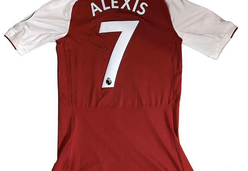 51292eed0ba Alexis Sanchez. webmaster · Posted on 31 12 2018. match worn shirt   signed  FA Premier League ...