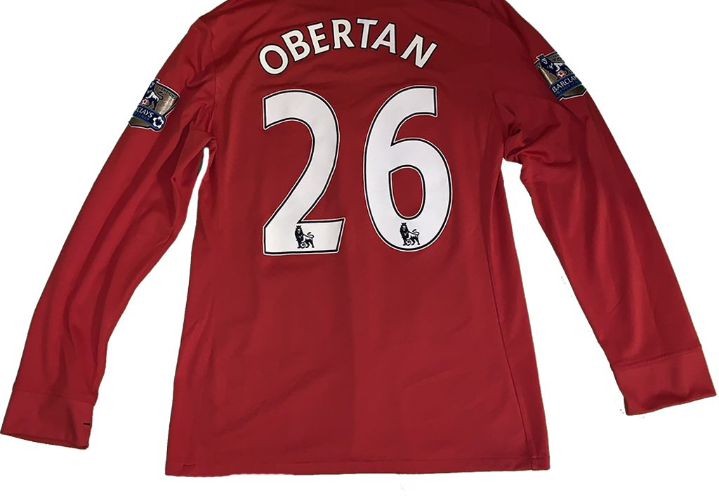 4f2510088bf Gabriel Obertan. webmaster · Posted on 09 02 2019. match worn shirt FA  Premier League ...